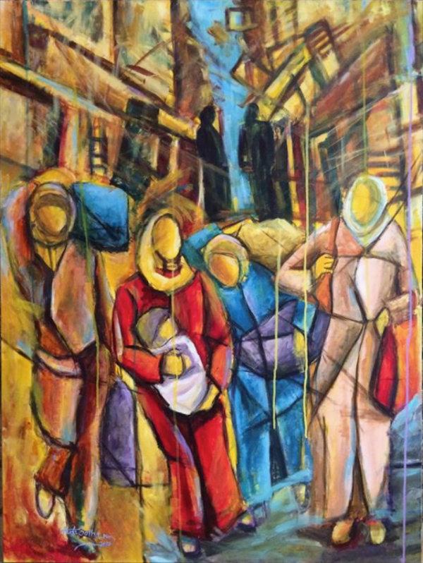 Dispossessed - by Huda Salha (Palestine-Canada)
