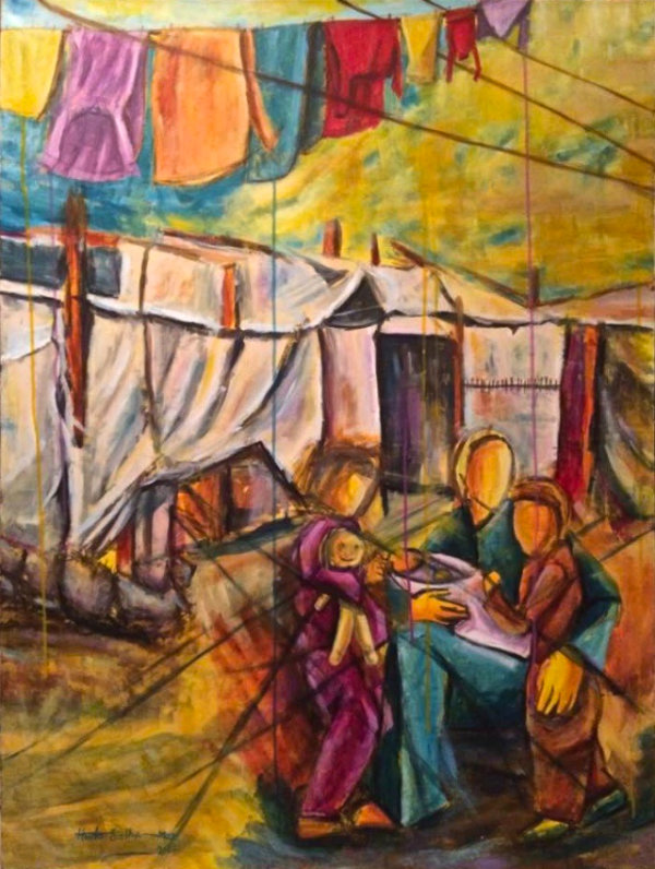Waiting for The Unknown - by Huda Salha (Palestine-Canada)