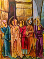 The Mourners - by Huda Salha (Palestine-Canada)