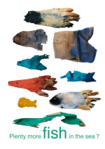 Plenty More Fish in the Sea ? Gloves - by Hazel Terry (Scotland)