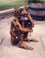 Chimpanzee - by Jonathan Green (British)