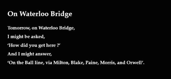 On Waterloo Bridge - by Jonathan Oates (UK)