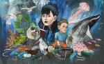 Plastic Soup - by Kid Crayon (Britain)