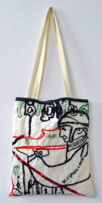 Tote Bag No 3 - by Nikkita Morgan (Ireland)