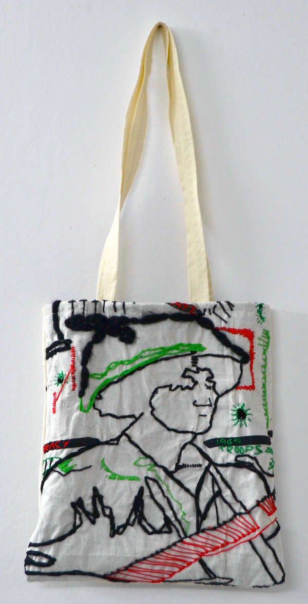 Tote Bag No 4 - by Nikkita Morgan (Ireland)