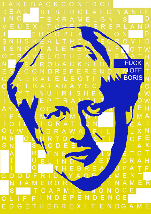 F*** Off Boris-3 - by Nikkita Morgan (Ireland)