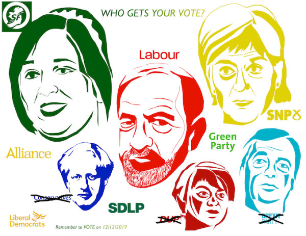 Who Gets Your Vote - by Nikitta Morgan (Ireland)