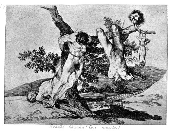 Goya-Disasters of War No 39