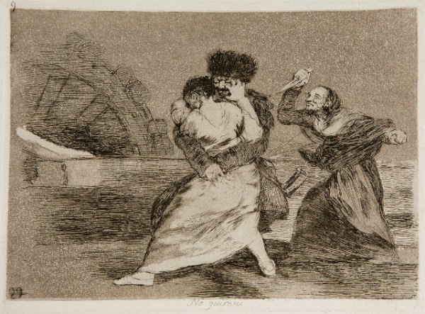 Goya - Disasters of War No. 9