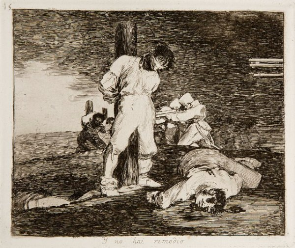 Goya - Disasters of War No. 15