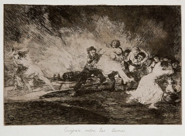 Goya - Disasters of War No. 41