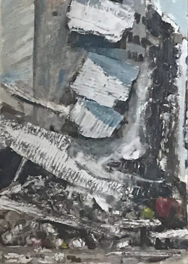 Bombed House - by Ruth Davies (England)