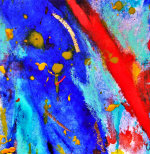 Razzle Dazzle I - by Yvonne Forster (UK)