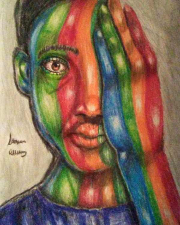 Boy of All Colors - by SaQuan Ellison (USA)