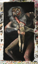 Saturn Devouring His Son (Fearing A Loss Of Control In An Era Of Great Uncertainty) - by Jeremy Wolf (USA)