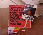 Documentation of a Protest, Anti-fascist Appropriation - by Tim Forster (UK)