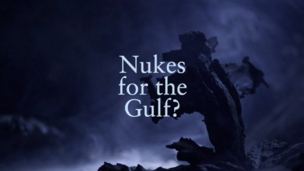 Nukes For The Gulf ? (VIDEO) - by Theatre of Wrong Decisions (Netherlands)