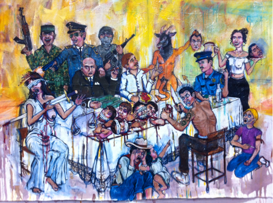The Narco Supper - by Barbosa Prince (Mexico-America)