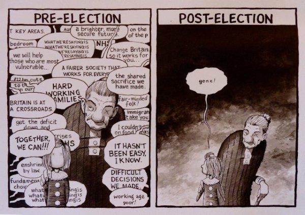 They Need Your Vote - by Paul Jennings (Ireland)