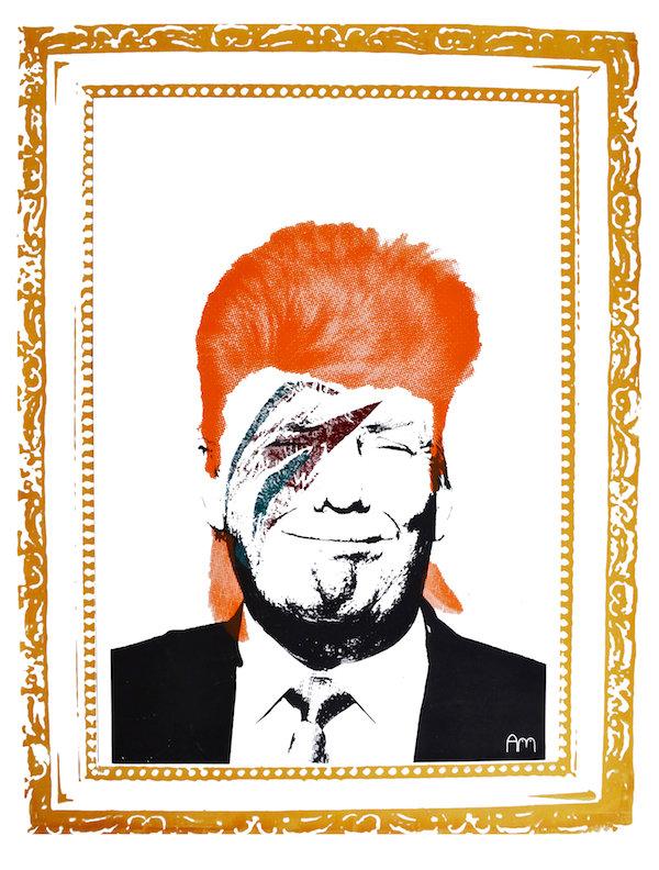 Trump - by Ashley-Daniel Mackle (UK)