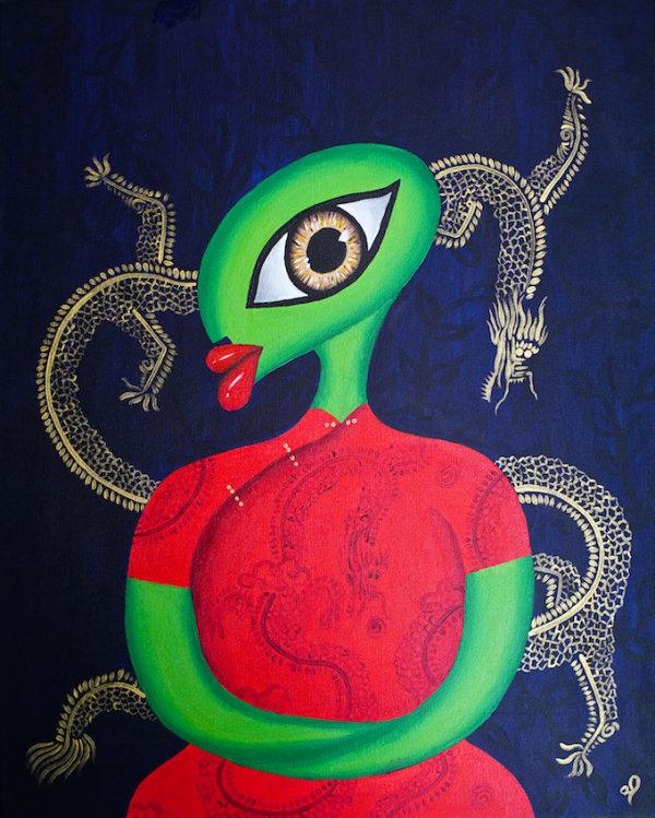 Dragon Lady - by Visithra Manikam (Malaysia)