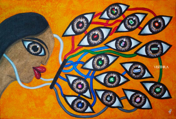 We Are Watching You - by Visithra Manikam (Malaysia)