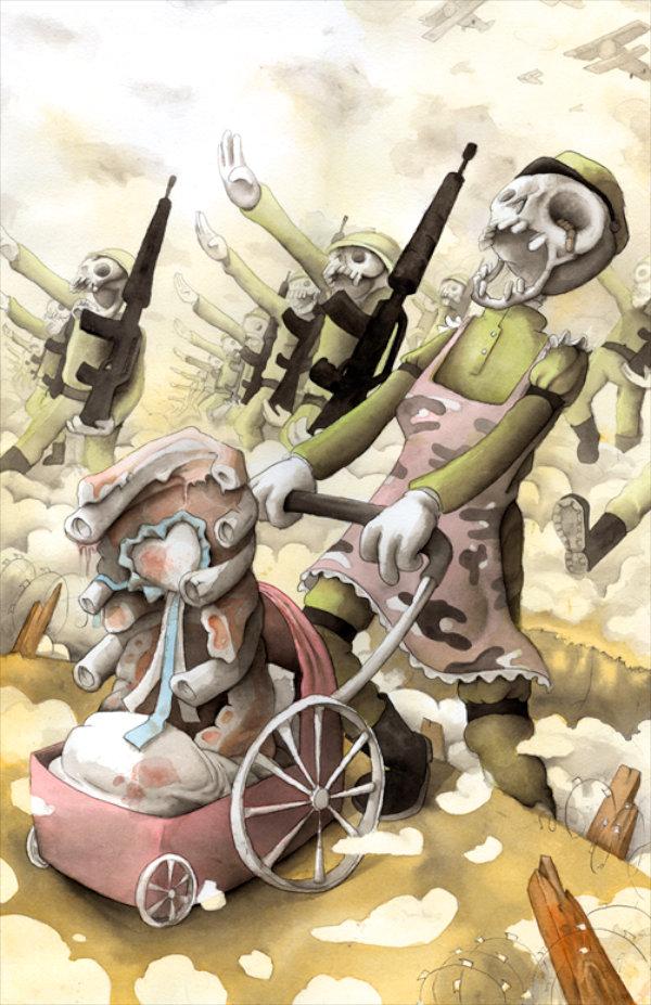 War - by Francesco Orazzini (Italy)
