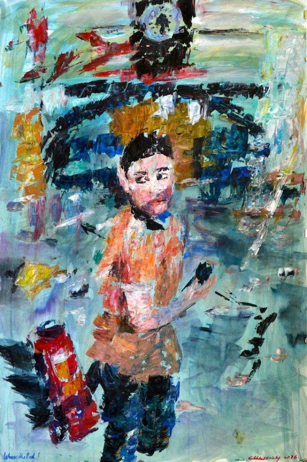 Warchild- by Gabrielle Cleuren, 2017 (Belgium)