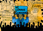 We Charge Genocide - by Monica Trinidad (USA)