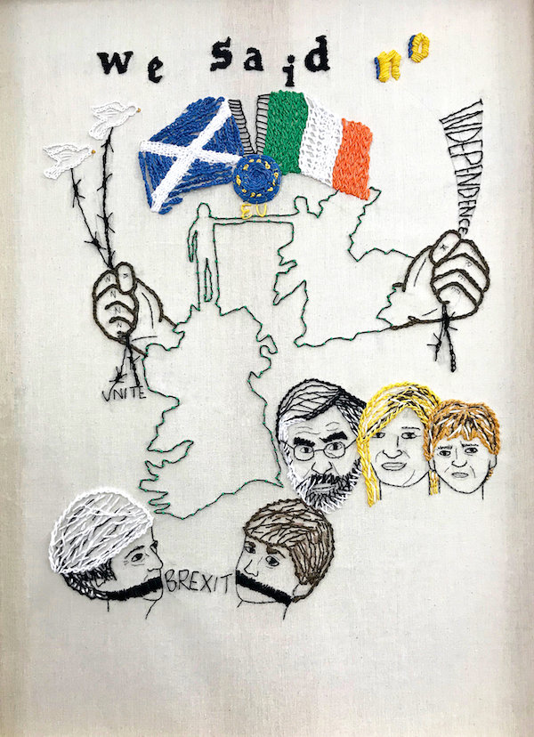 We Said No #01 - by Nikkita Morgan (Ireland)