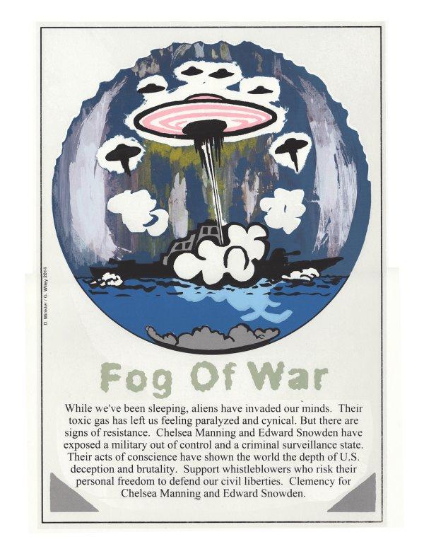 Fog of War - by Doug Minkler (USA)