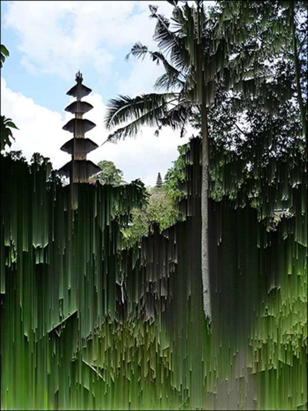 Glitched-Indonesia 8 - by Susanne Layla Petersen (Denmark)