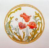 Circles of Nature - Poppies