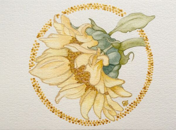 Sunflower of Gold