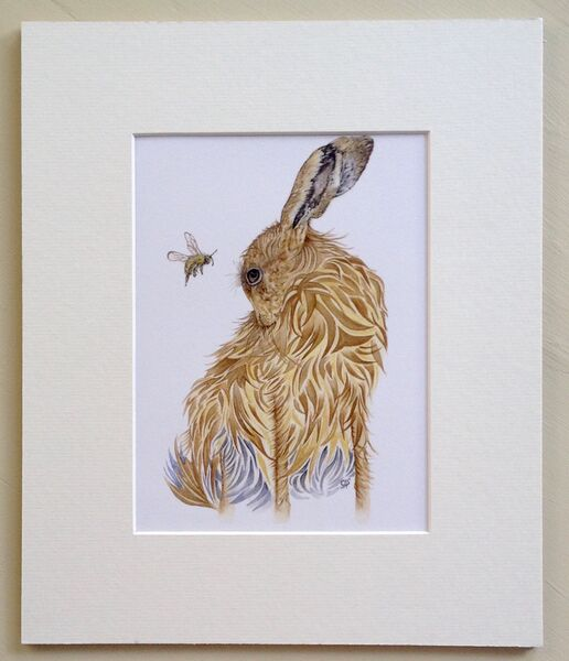 Hare & Honeybee