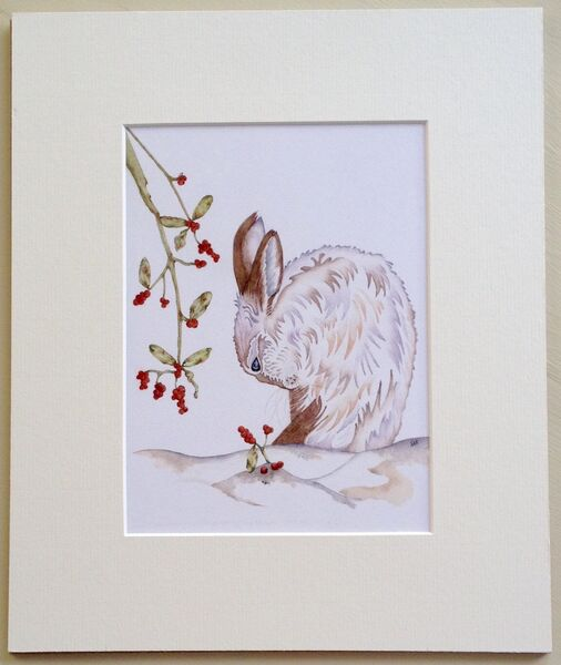 Snowberry the Winter Hare
