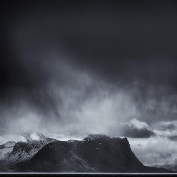 Rain cloud, Norway