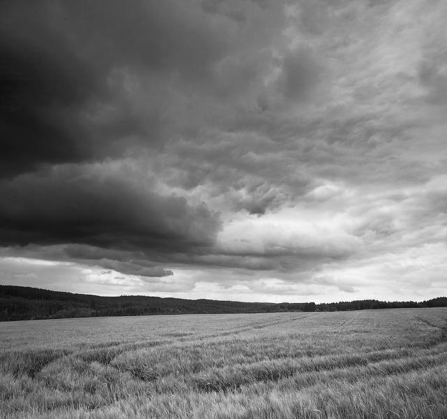 Upcoming thunderstorm, Floezlingen