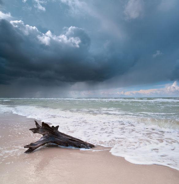 Darss, upcoming thunderstorm