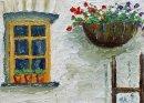 Casement window and manger