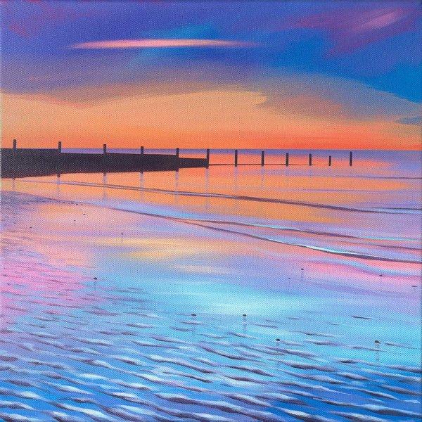 Sand Ripple Sunrise
