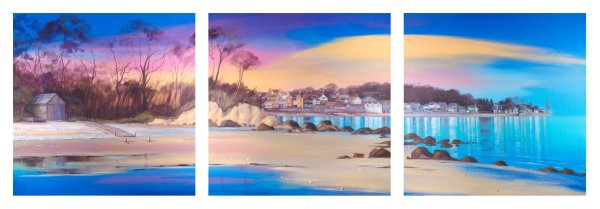 Priory to Seagrove (triptych)