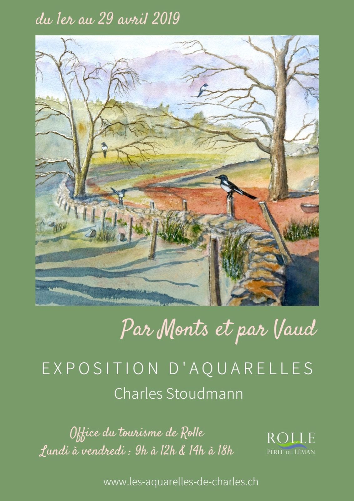 """""""Par Monts et par Vaud"""", Rolle (VD), Avril 2019"""