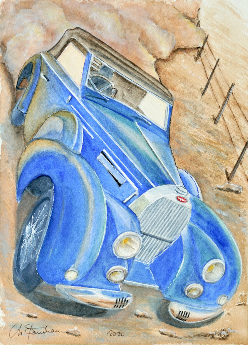 Bugatti Stelvio type 57C 1939