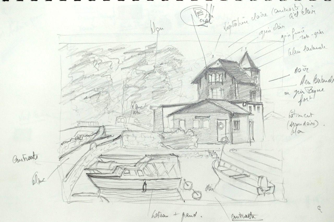 Maison près du port de Nyon (VD)