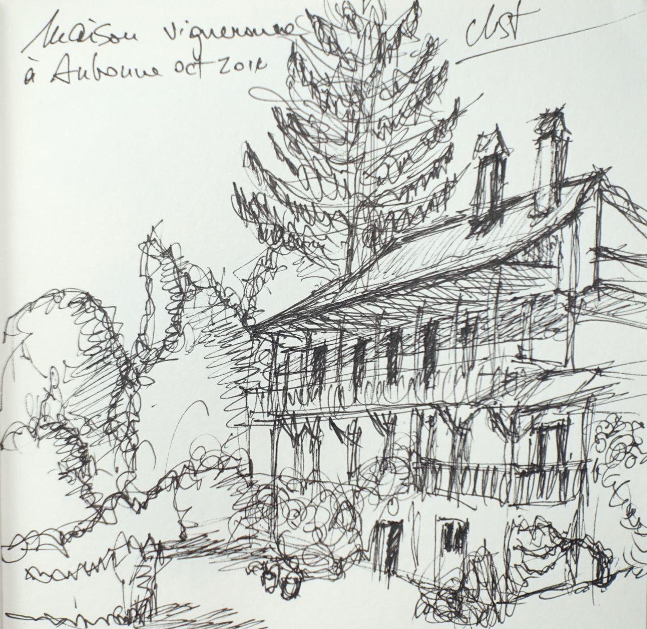 Maison vignerone près d'Aubonne (VD)