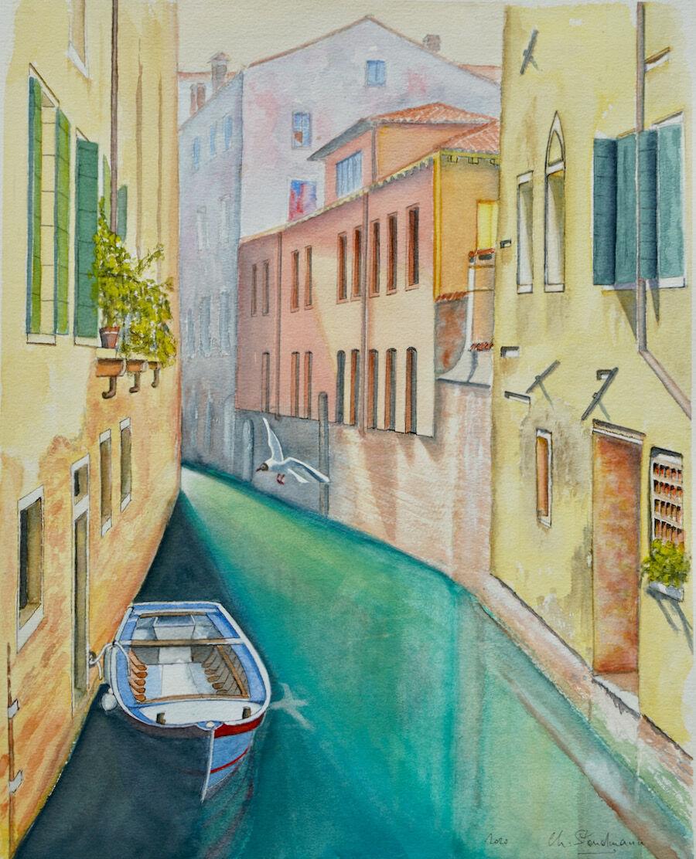 Duo - Canal de Venise de jour - Venice canal by day