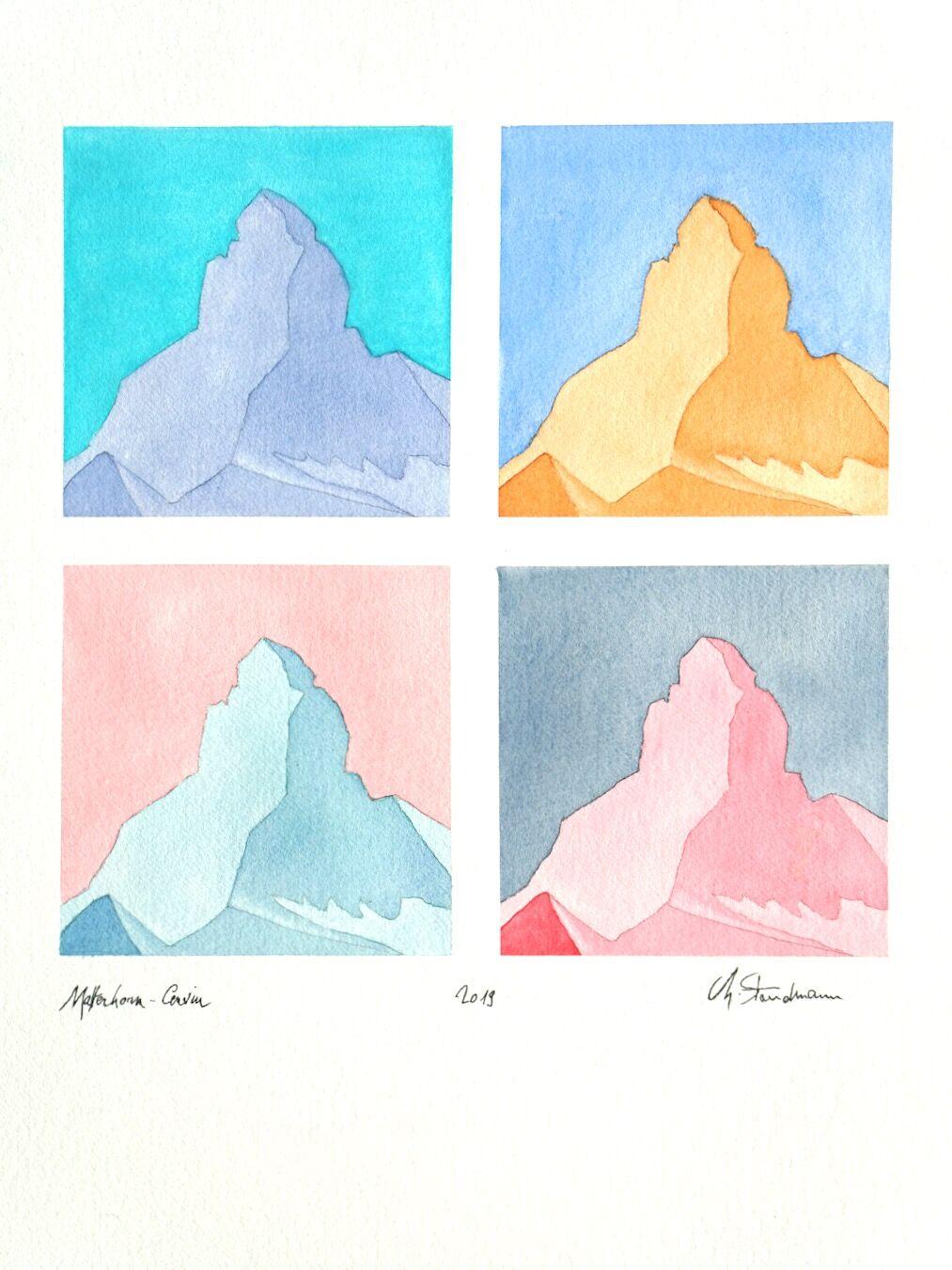 Le Cervin en 4 – The Matterhorn (VS)