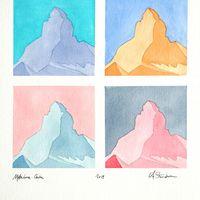 Les quatre Cervins - The four Matterhorns