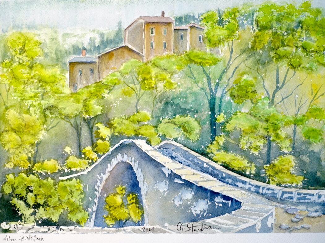 Pont de Navacelles, France